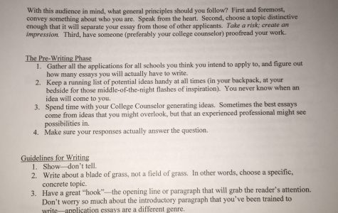 Putting a Word Limit on Life – The Mysteries of a College Essay