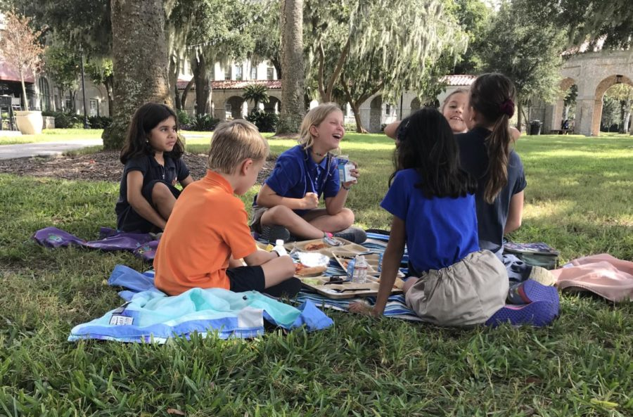 Lower School Learning Together: 1st, 2nd, 4th