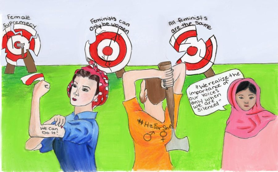 Axing the Misconceptions of Feminism