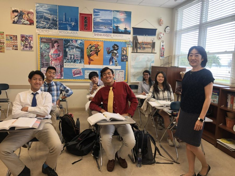 Braren is the sponser for the Japanese club. The club is in charge of Japanese week as well as holding meetings to watch anime, play games and eat cultural food. Photo credit: Sharp.