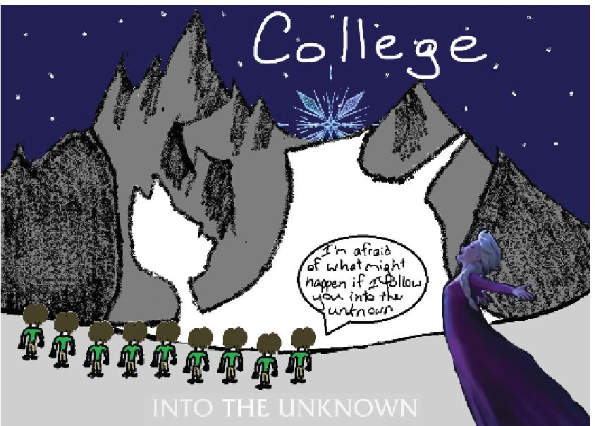 Into the Unknown - Frozen 2 and the College Process