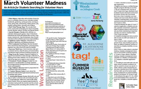 March Volunteer Madness
