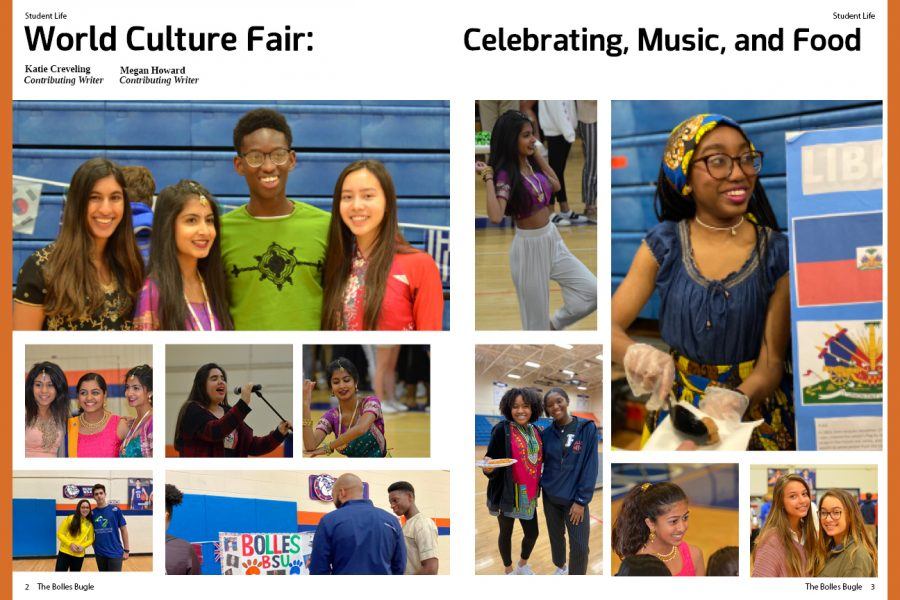 Culture Fair: Celebrating, Music, and Food