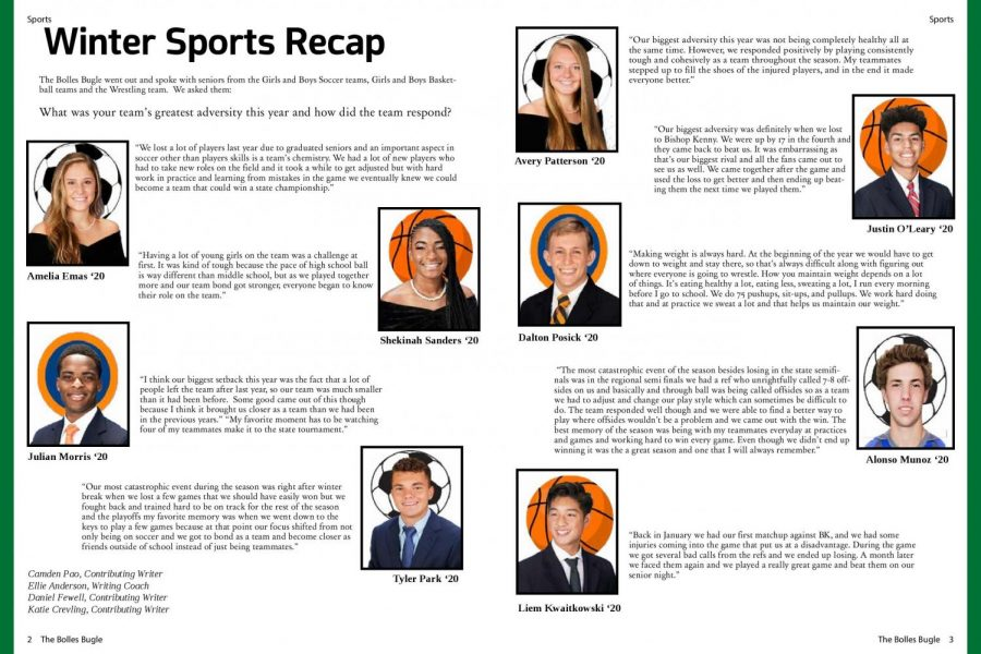 Winter Sports Recap