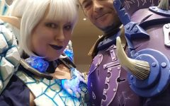 Elle Reed cosplayed as Frostmage with Fred Reed.