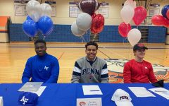 Signing ceremonies give students a chance to share their triumph with friends and fellow-athletes.