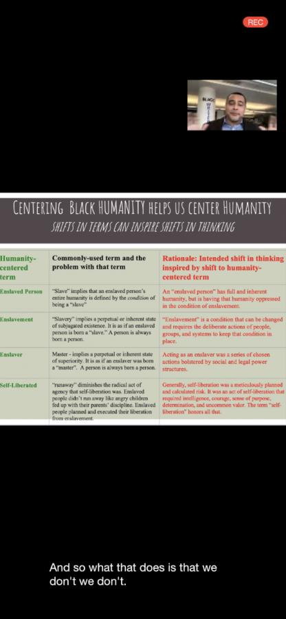 A slide taken from a workshop workshop at the POCC
