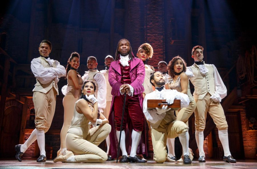 The Chicago Hamilton cast