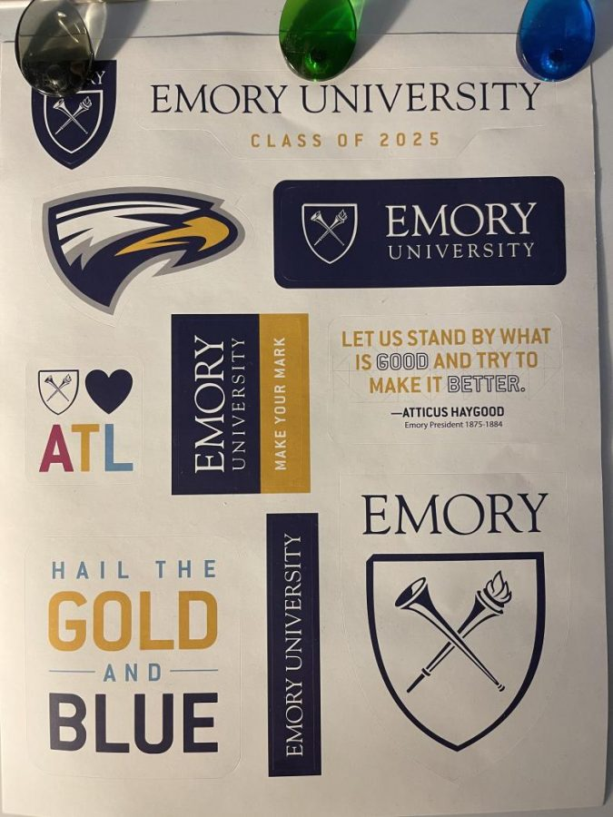 Gifts I received from Emory.